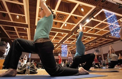 Yoga event raises funds for Cancer Assistance Program