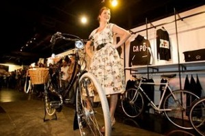 Bikes and Fashion Mix in Sacramento Show