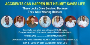 'I Love My City' Tackles Two Wheeler Safety, Promotes Helmet Use