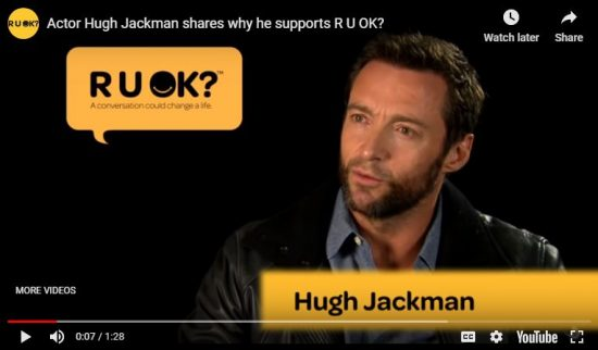 R U OK?DAY, National Campaign to Reduce Suicide, Set for September 15th