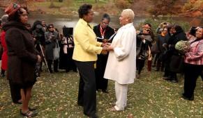 New York Times Details Recent Wedding Of Landmark Forum Graduates