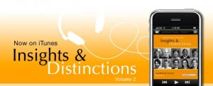 Insights & Distinctions, Volume 2, Now Available At iTunes