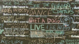 'Before I Die' Initiative Goes Global