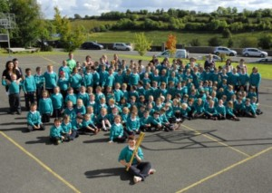 Olympic Torch Visits Irish Schools, Towns
