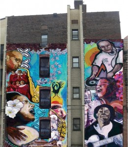 Mural Beautifies Newark, Celebrates History of African American Music, Supports Community Farm