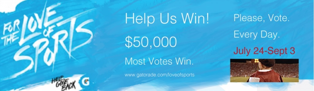 Special Spectators Among Kids' Charities Vying for Gatorade, For the Love of Sports Prize