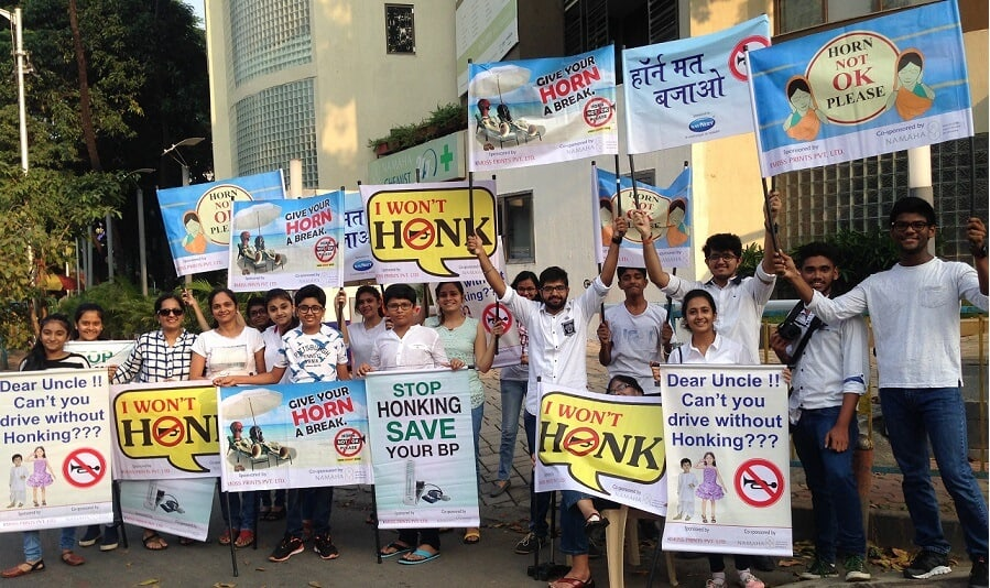 Making Mumbai Honk Free