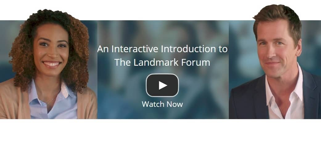 Landmark Launches New Online Introduction to The Landmark Forum