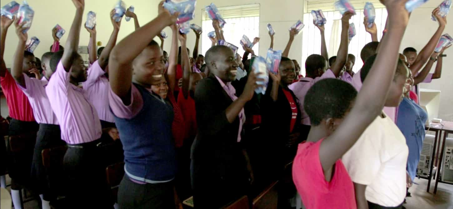 Tavia: Fighting for Girls' Education One Pad at a Time