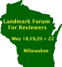 Landmark Forum for Reviewers Comes to Wisconsin