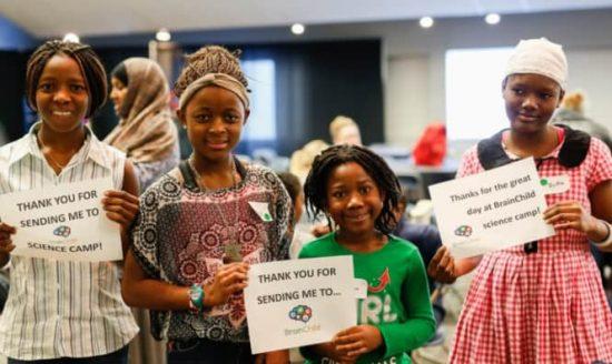 Camps de Sciences et de Mathématiques pour les Personnes Défavorisées : Développement du Projet BrainChild