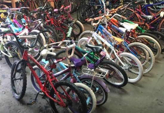 After 5 years and 750 donated bicycles, Leader Steps Down