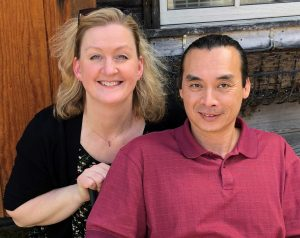 Debbie and Thanh Huynh