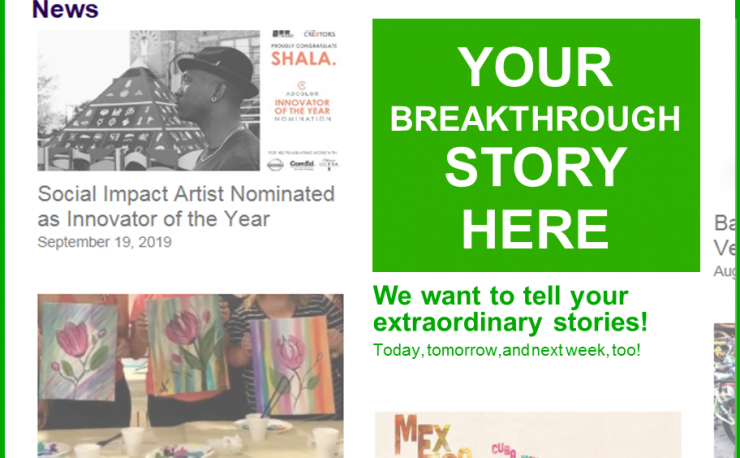 """Your Breakthrough Story Here"""