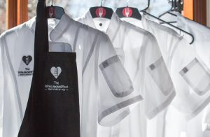 Promotional chefs aprons and jackets for The White Jacket Effect