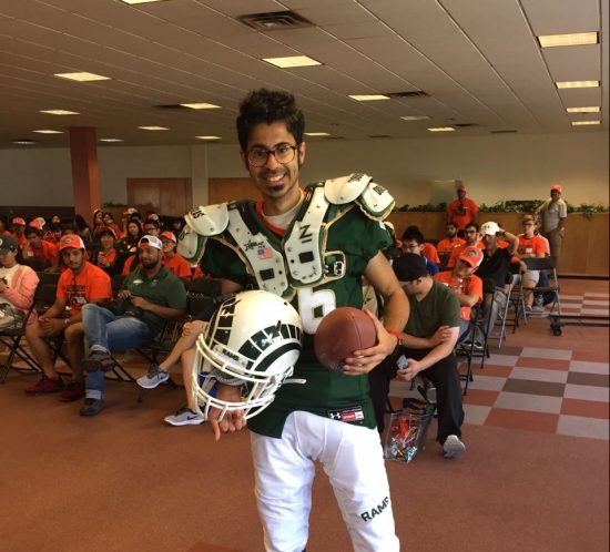 Darshan Shah: Creating Inclusivity with Football 101 for International Students